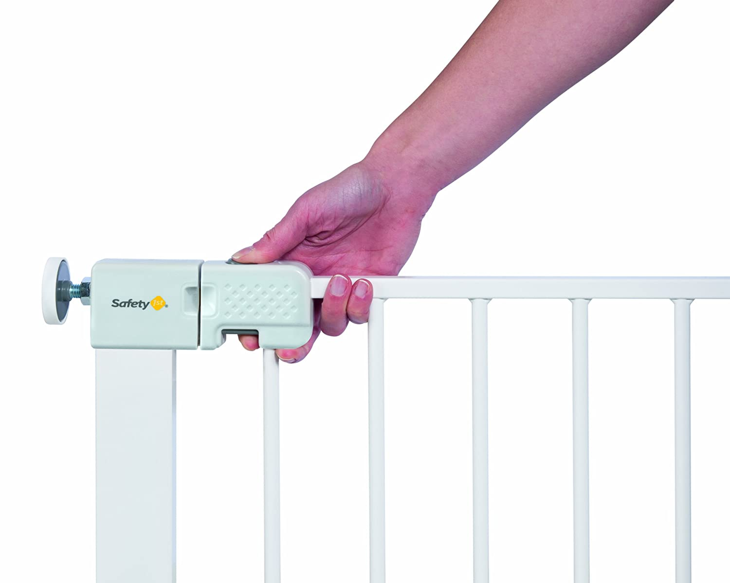 Safety 1st Simply Close Pressure Fit Metal Gate White Amazon Co Uk