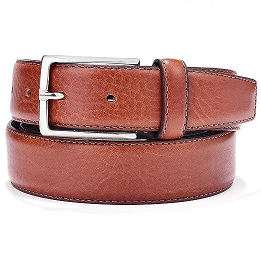 3 opinioni per Cintura uomo vera pelle di alta qualità Made in Italy per  cerimonie Marrone 836f2f17cf21