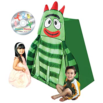 Yo Gabba Gabba Brobee Play Tent with DVD