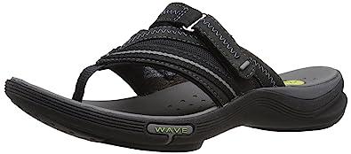 clarks wave coast flip flops