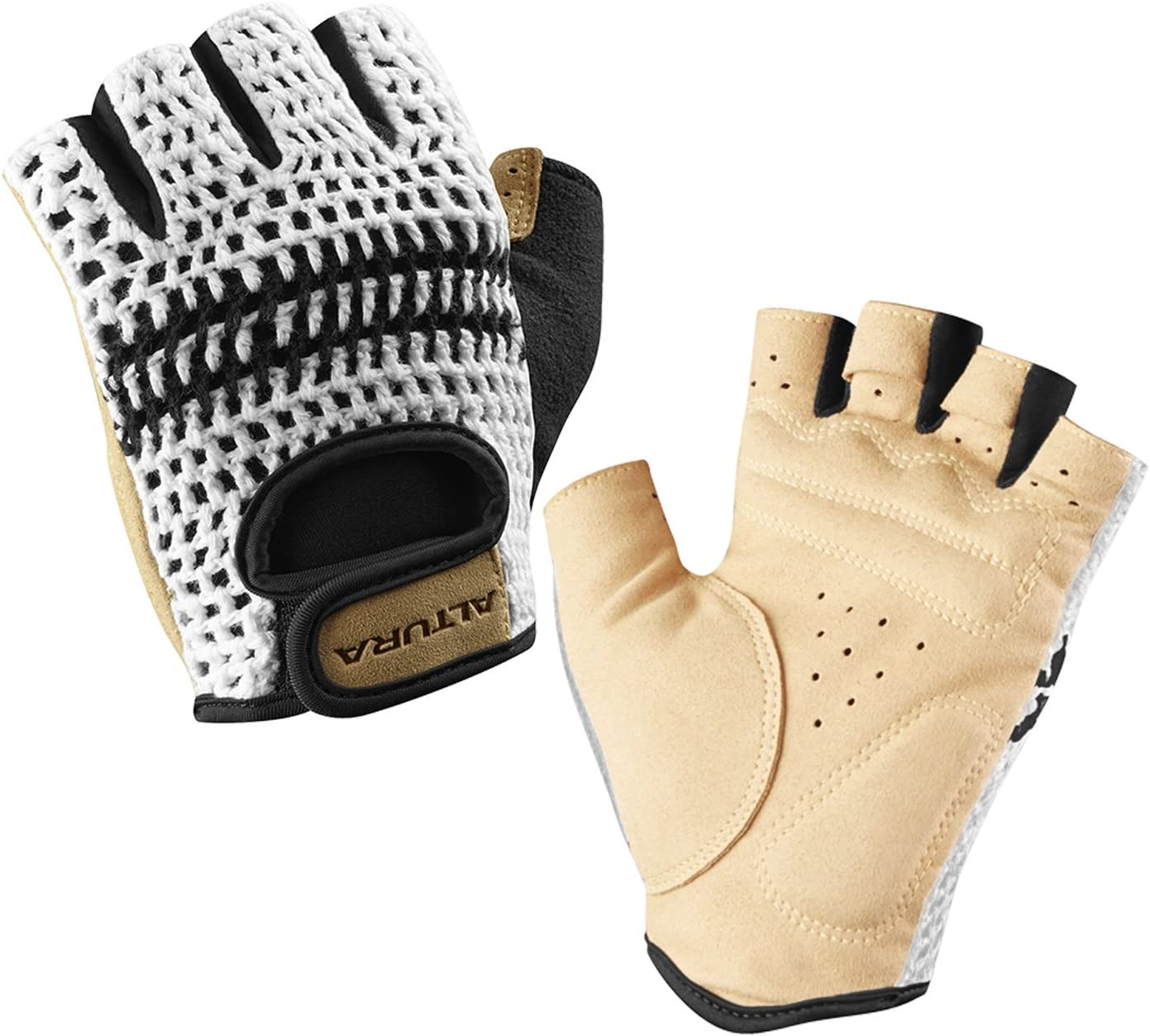 GUANTI CICLISMO VINTAGE TEAM AMICA CHIPS CYCLING GLOVES SIZES S M L XL XXL NEW