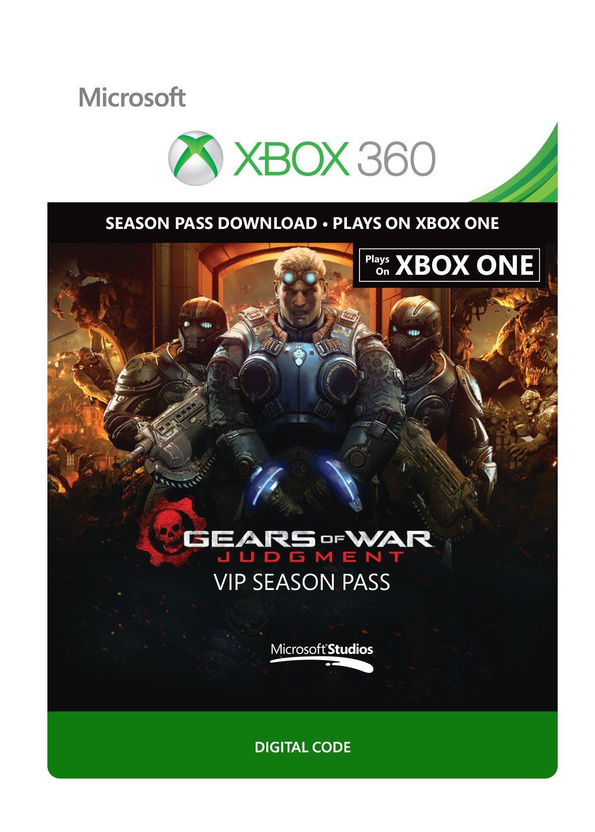Gears of War Judgment: VIP Season Pass - Xbox 360 Digital Code