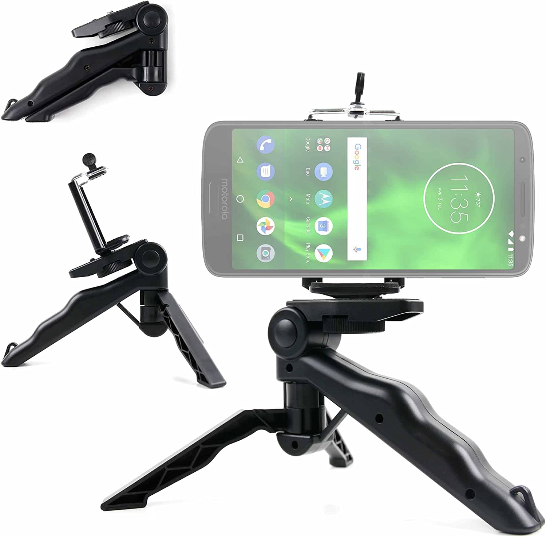 DURAGADGET Mini Trípode/Selfie Stick para Smartphone Motorola Moto ...