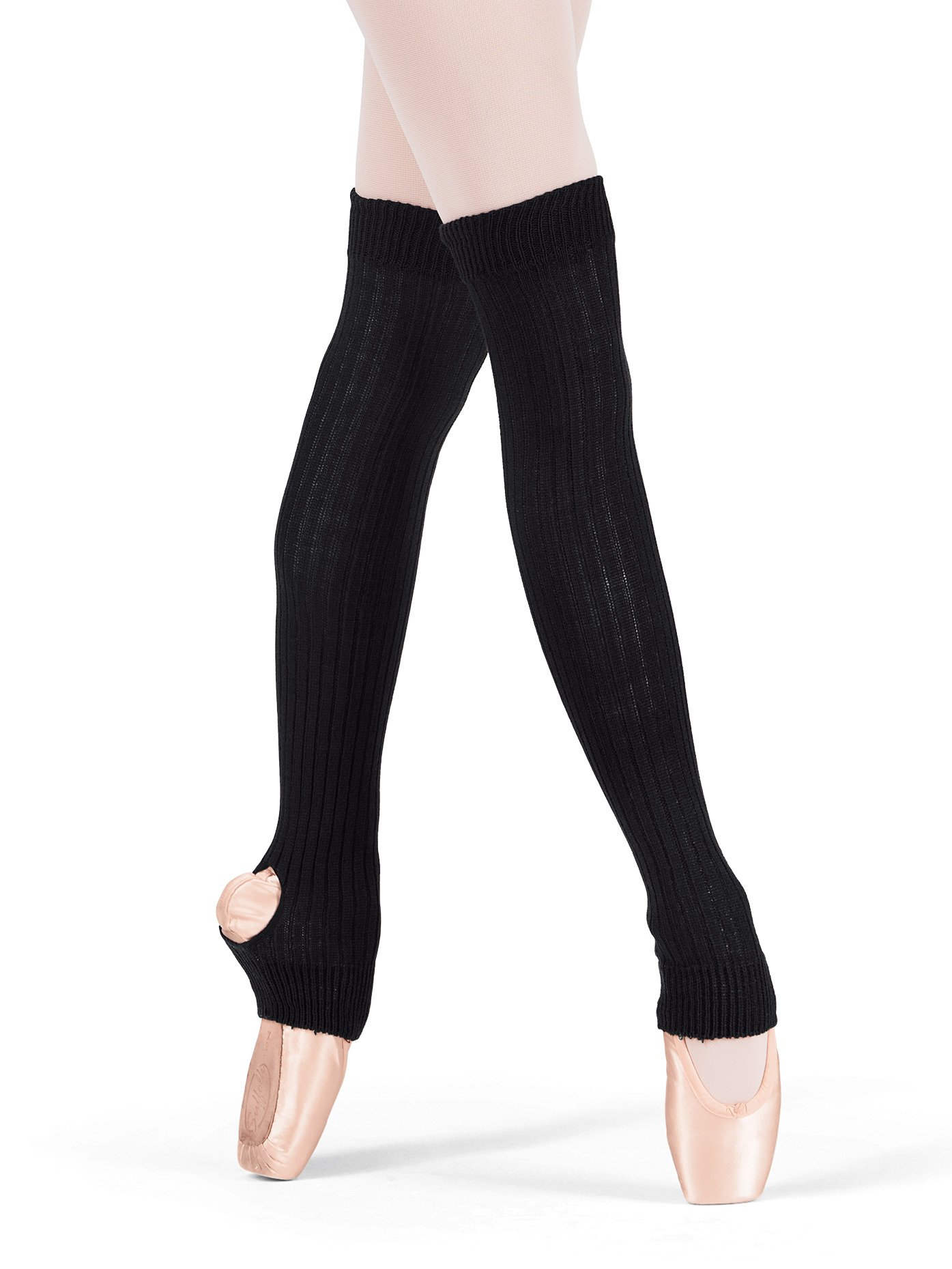 Body Wrappers Unisex Legwarmers 27 Inch Style 194, Black