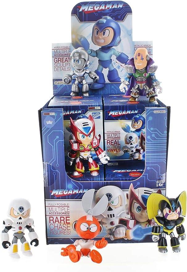 Metallic Action VINYLS-Lot de 3 Mega Man Blind Box 3.25 in environ 8.26 cm