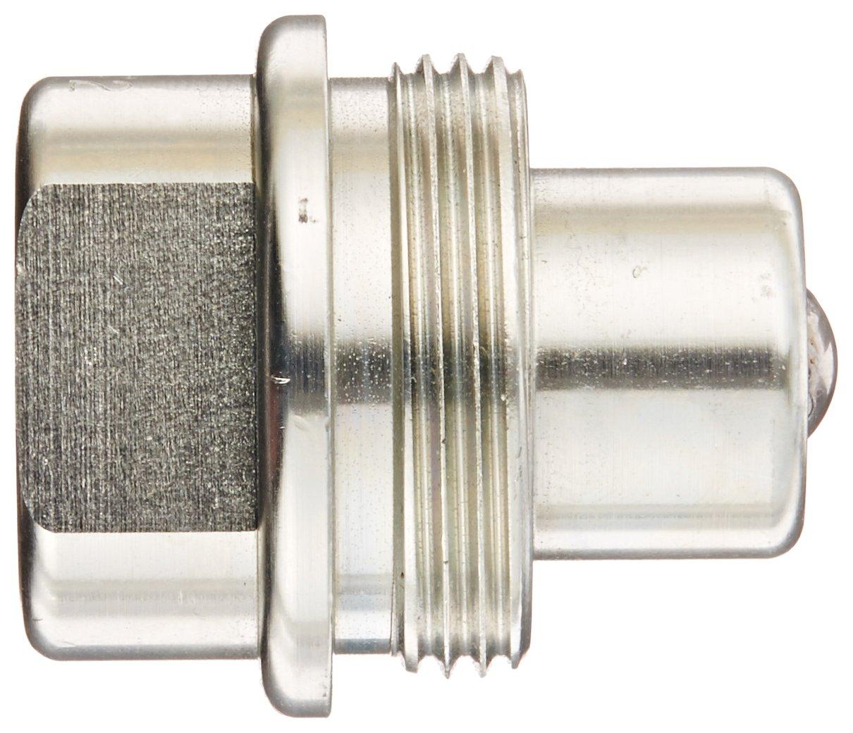 Nipple 1//4 Coupling x 1//4-18 NPTF Female Thread 1//4 Coupling x 1//4-18 NPTF Female Thread Dixon Valve /& Coupling Dixon Valve T2F2 Steel High Pressure Ball Interchange Fitting