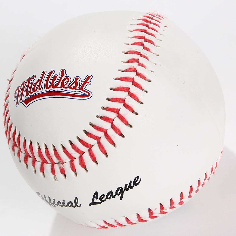 Midwest Béisbol oficial de la liga 22,86 cm Liga pelota tamaño ...