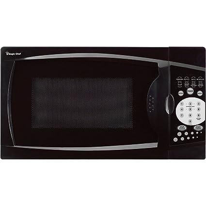 Magic Chef MCM770B 0.7 Cu. Ft. 1000W Black Countertop Microwave Oven. 7
