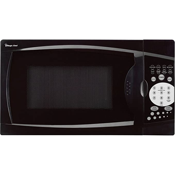 Magic Chef MCM770B 0.7 Cu. Ft. 1000W Black Countertop Microwave Oven. 7