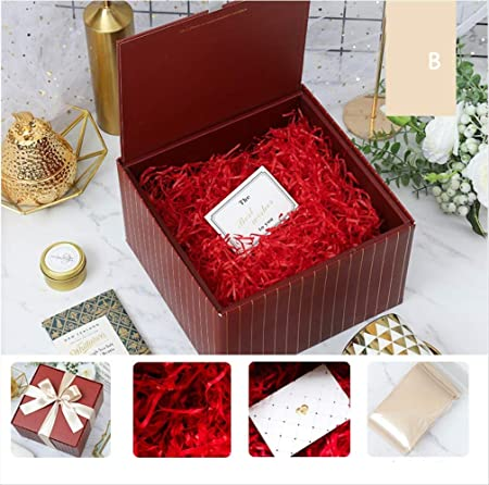 KHKJHT Caja Regalo de Acción de Gracias Regalo de San Valentín Caja de Sorpresa Caja de Regalo de Boda Exquisita Caja: Amazon.es: Hogar
