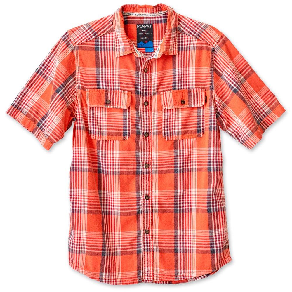 KAVU Mens Coastal Button Down Shirts