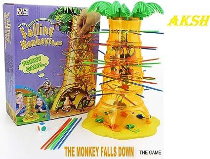 AKSH Falling Monkey Toy Game