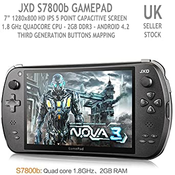 JXD S7800 RK3188 Quad Core Game Pad 3 Console Android 4 2 Tablet