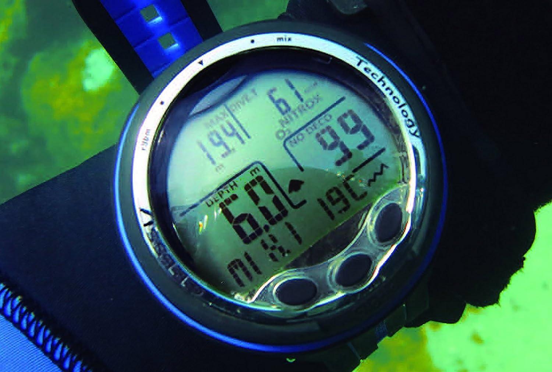 Cressi Giotto Diving Computer Professional Ordinateur de Plong/ée Dual-Mix
