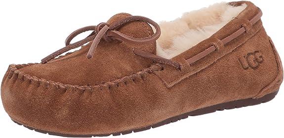 UGG Australia, 5296, Dakota, Girls Slippers, Chestnut, U.S. 4 / EU 34 best kids' slippers
