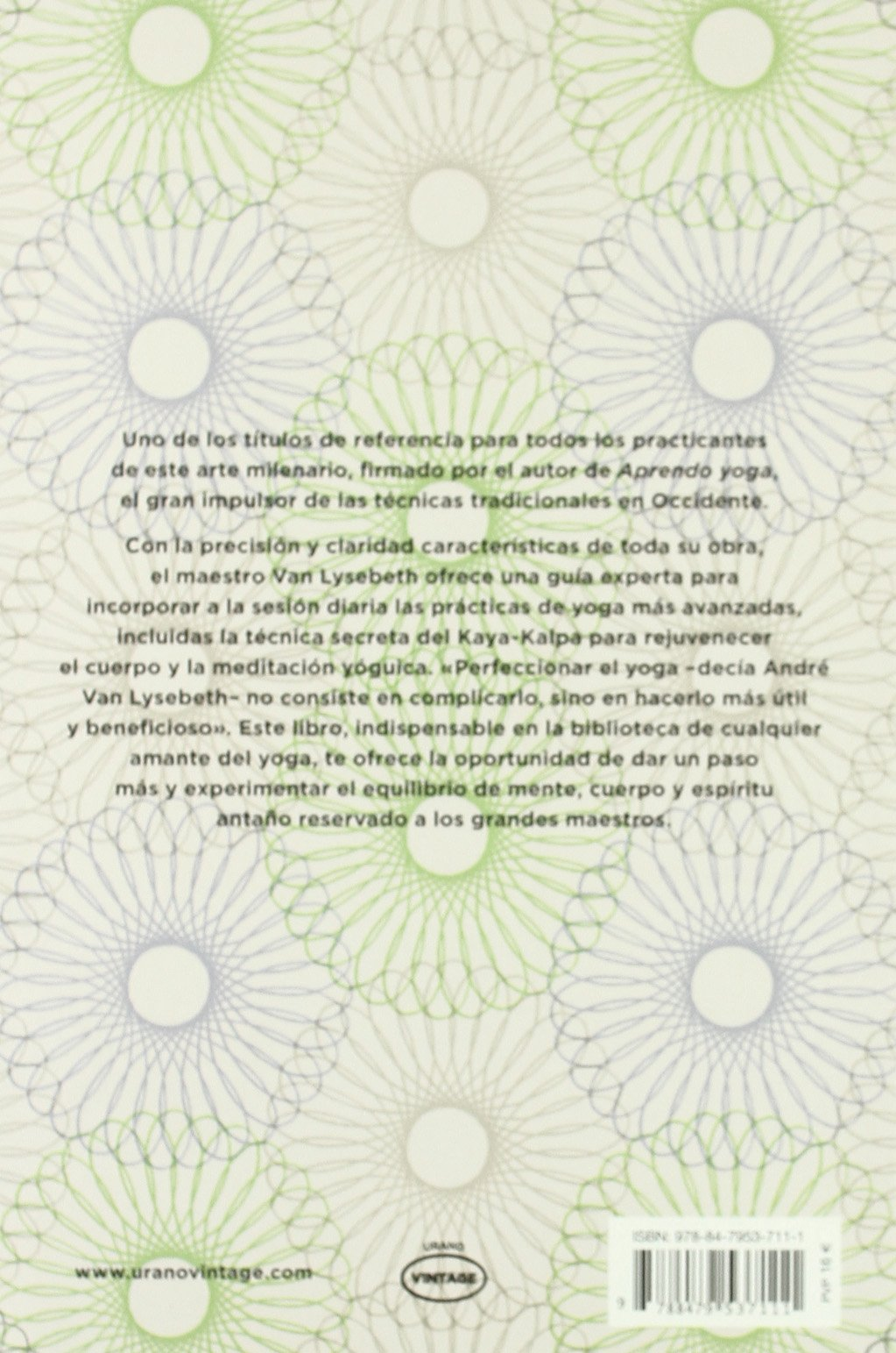 Perfecciono mi yoga (Vintage): Amazon.es: André Van Lysebeth ...