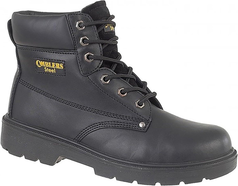 Noir Chaussures de s/écurit/é Amblers Steel FS65 pour femme 40 EUR