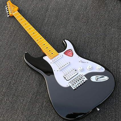 Miiliedy Alta calidad Material de caoba AL-112C Guitarra eléctrica ...