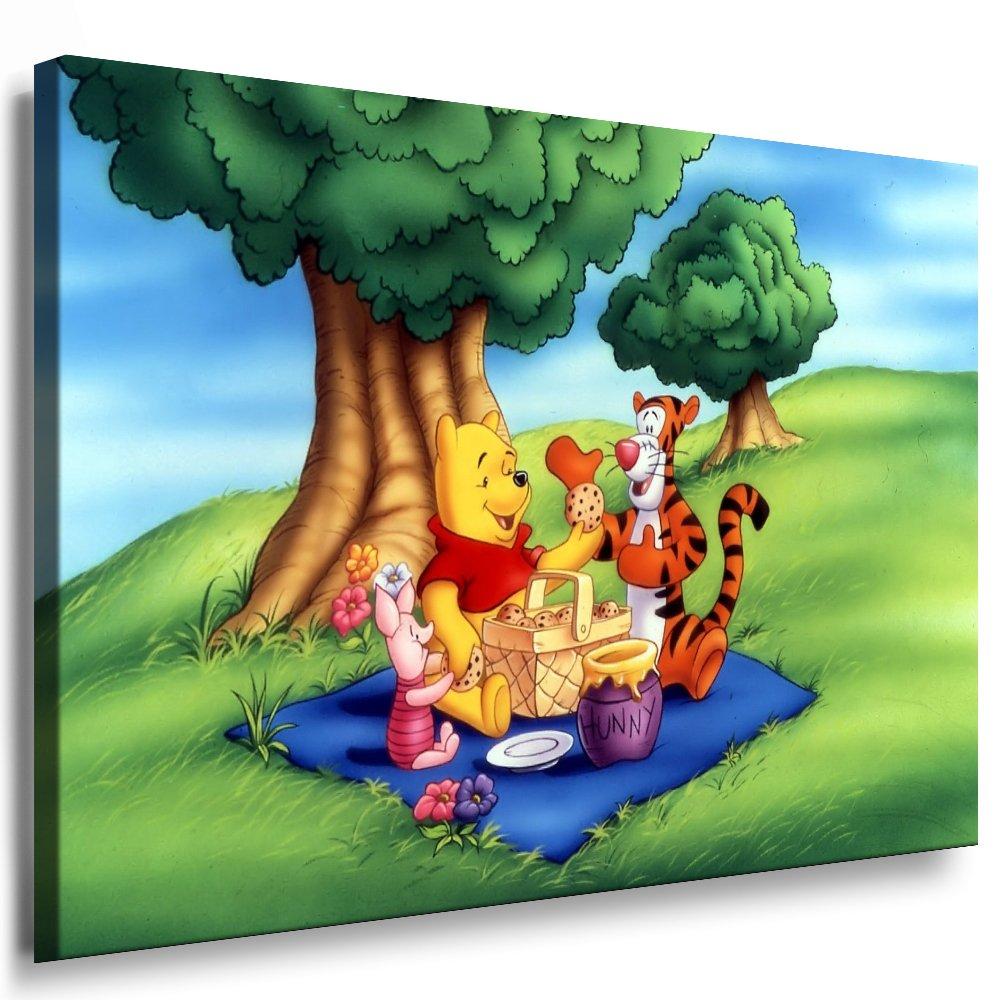 Winnie the Pooh Kinderzimmer Kinderzimmer Kinderzimmer Leinwand Bild ...