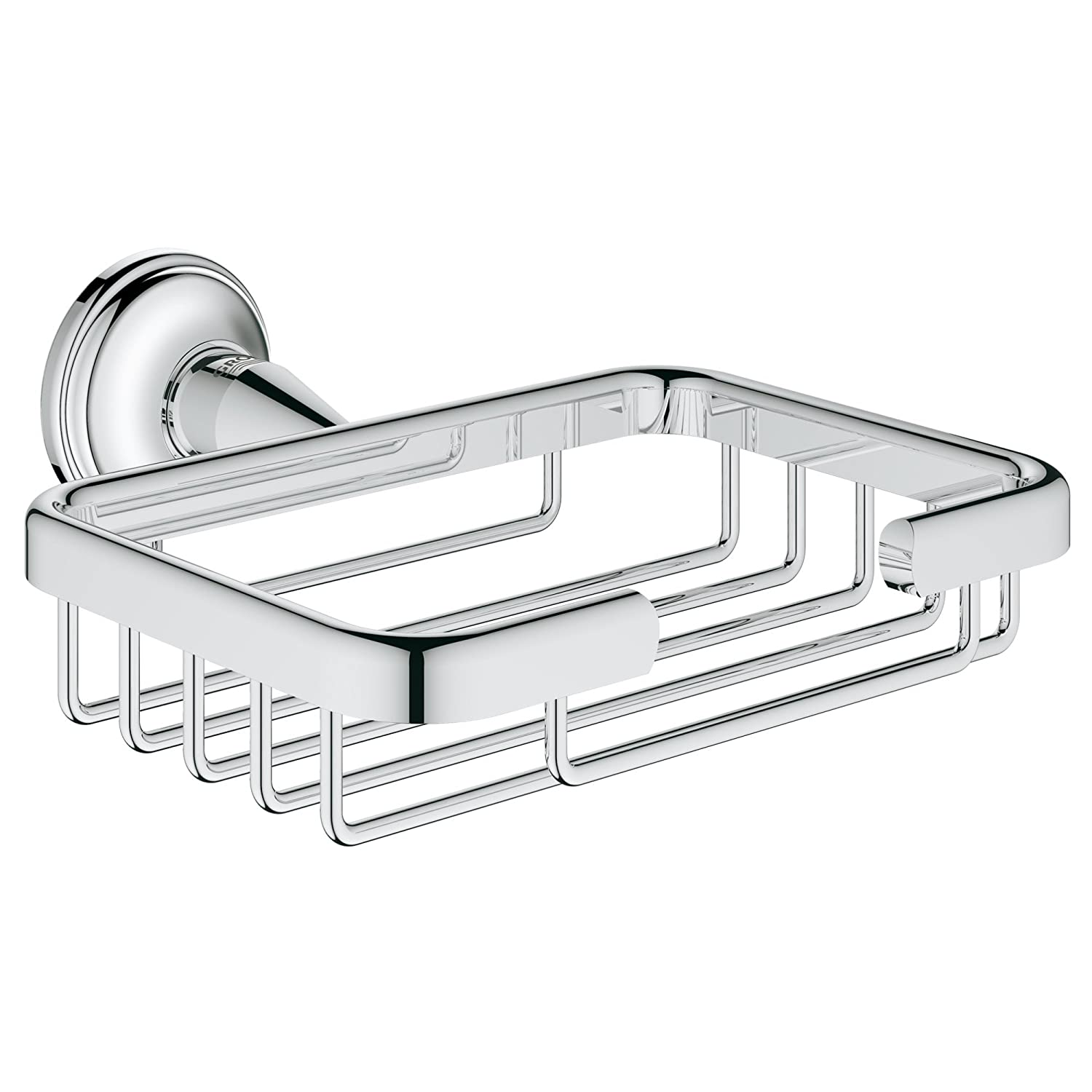 Grohe 40659001 Essentials Authentic Filing Basket in Starlight Chrome