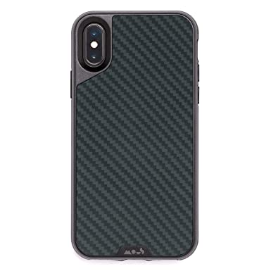 size 40 e971f 16da9 Mous Protective iPhone X/XS Case - Aramid Carbon Fibre - Screen Protector  Inc.