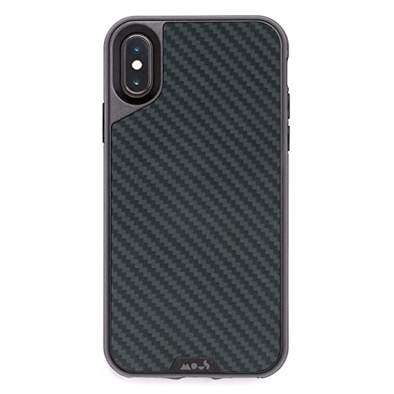 quality design dd1d0 9b91e MOUS Protective iPhone X/XS Case - Aramid Carbon Fiber - Screen Protector  Inc.