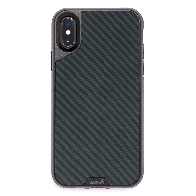 Mous Protective iPhone X/XS Case - Aramid Carbon Fiber - Screen Protector Inc.