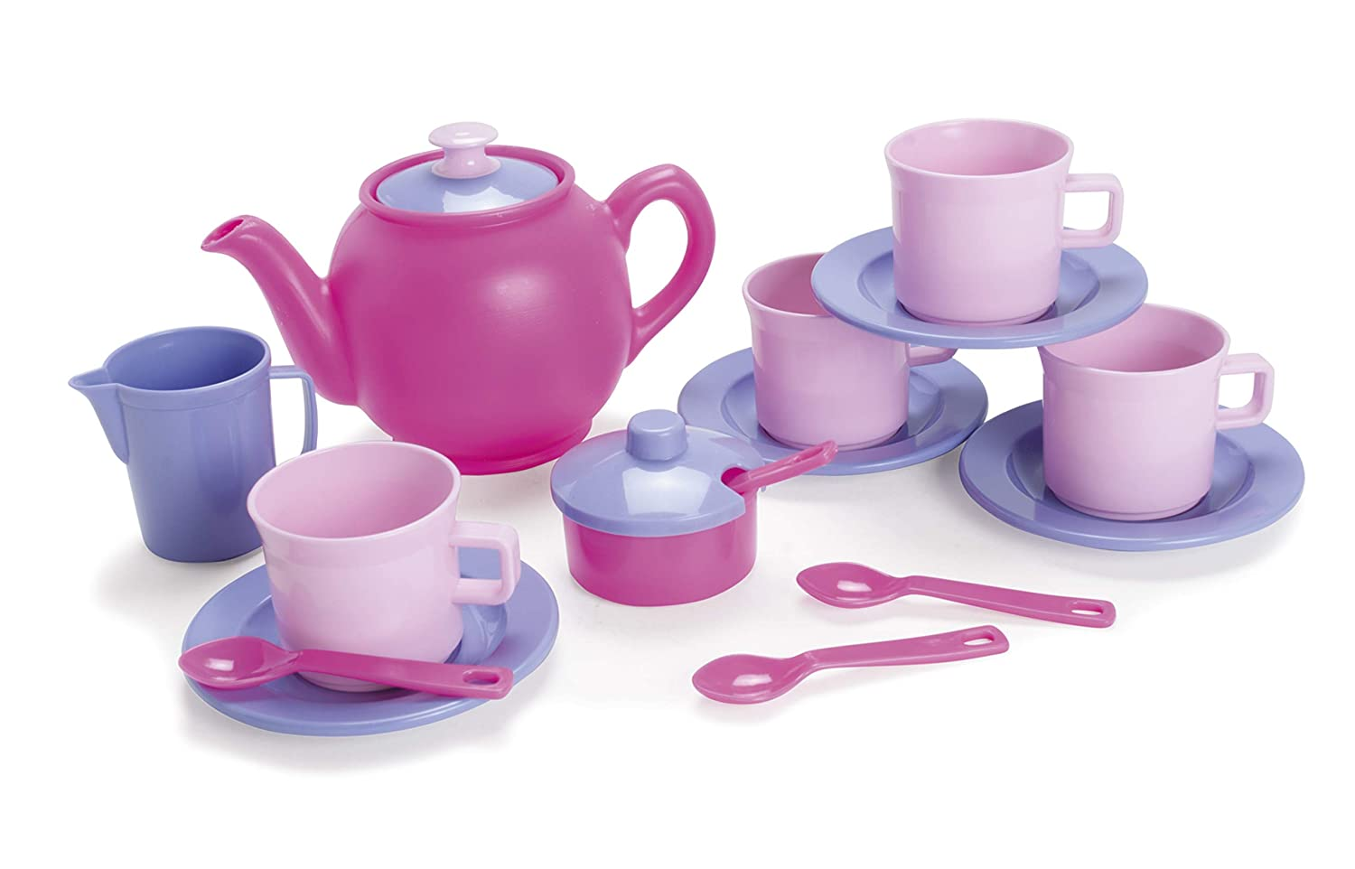 7.025 Height American Educational Products DT-4398 Tea Set Activity Set 7.41 Length 5.46 Wide