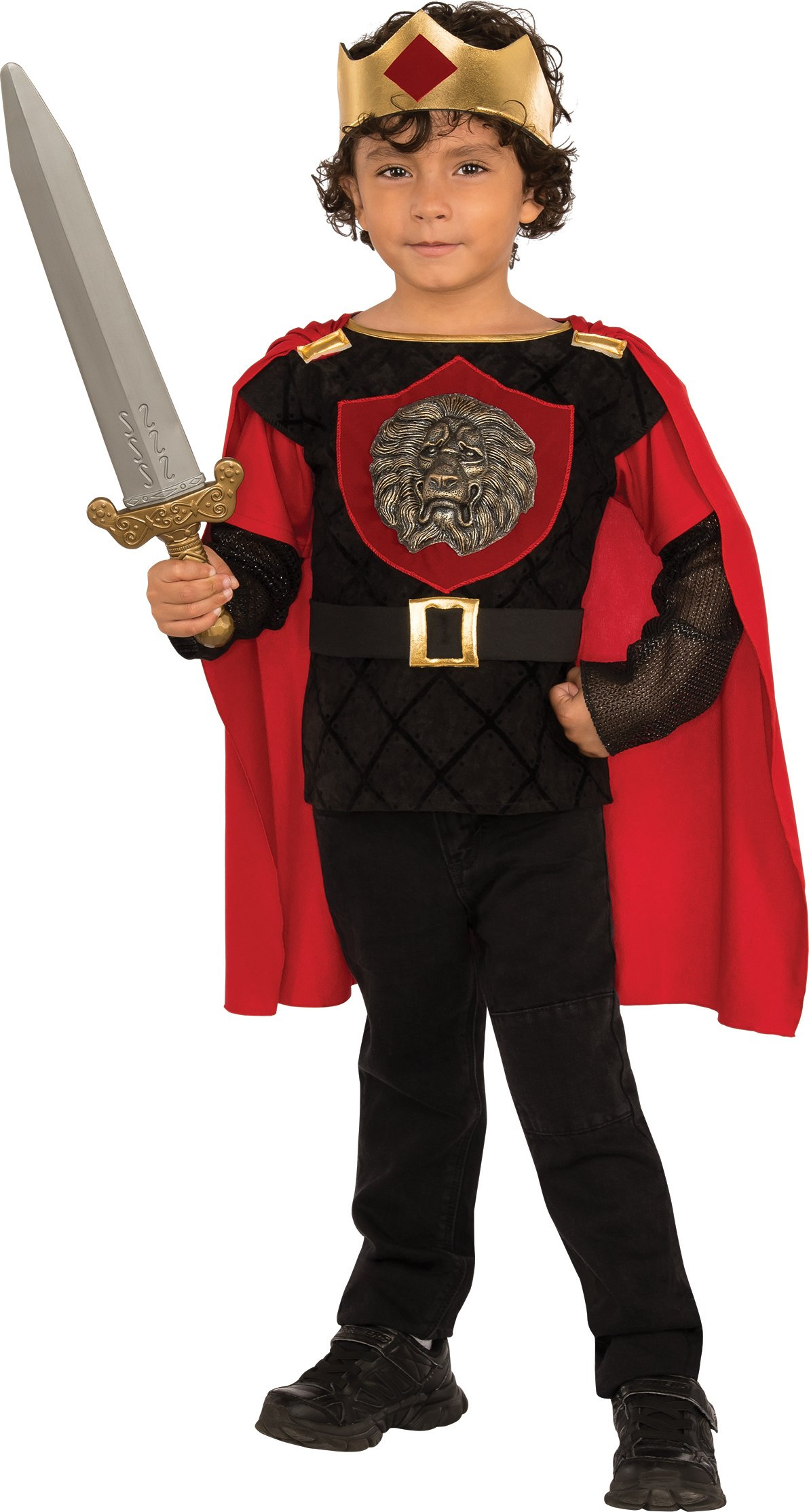 Rubies Costume Child's Little Knight Costume, Medium, Multicolor