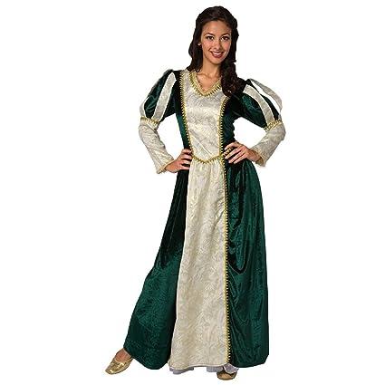 Disfraz de Reina Medieval para Mujer Renacimiento Adultos Damas Adolescente Princesa - Medio