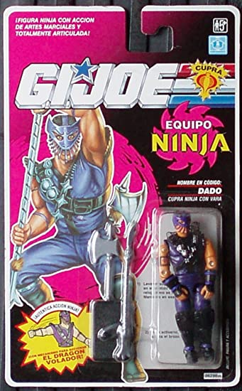 Amazon.com: Gi joe Equipo Ninja Dado Hasbro 3 3/4 Action ...