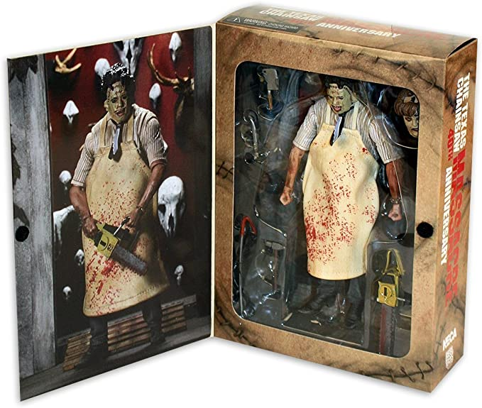 """7/"""" Scale Action Figure-Ultimate Leatherface-NECA Massacre à la Tronçonneuse"""