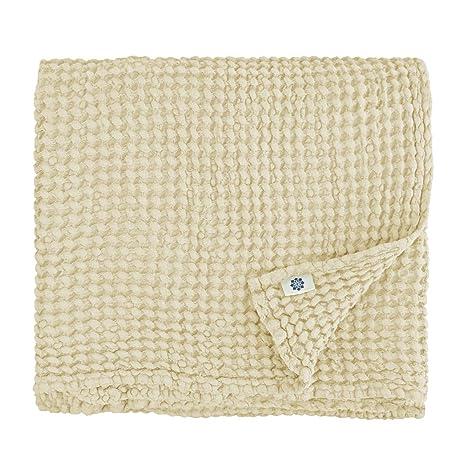 Linen & Cotton Lujo Toallas de Baño Ezra - 48% Lino, 52% Algodón