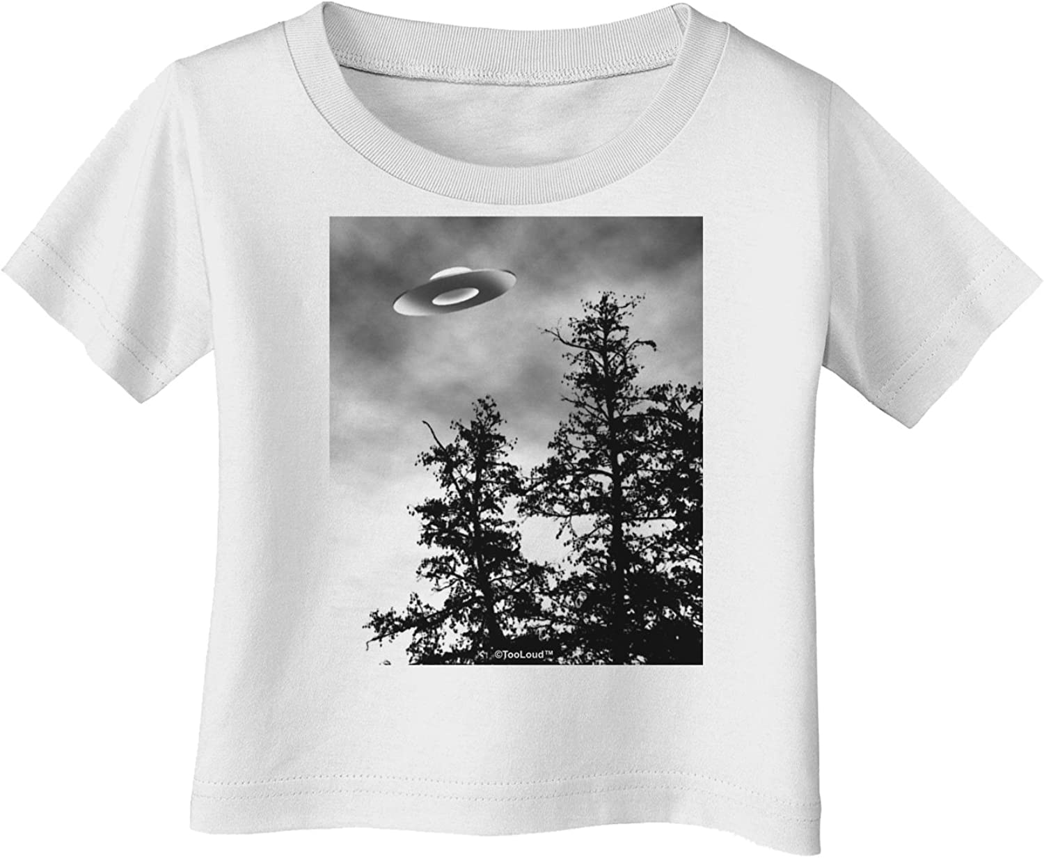 UFO Infant T-Shirt TooLoud I Want to Believe