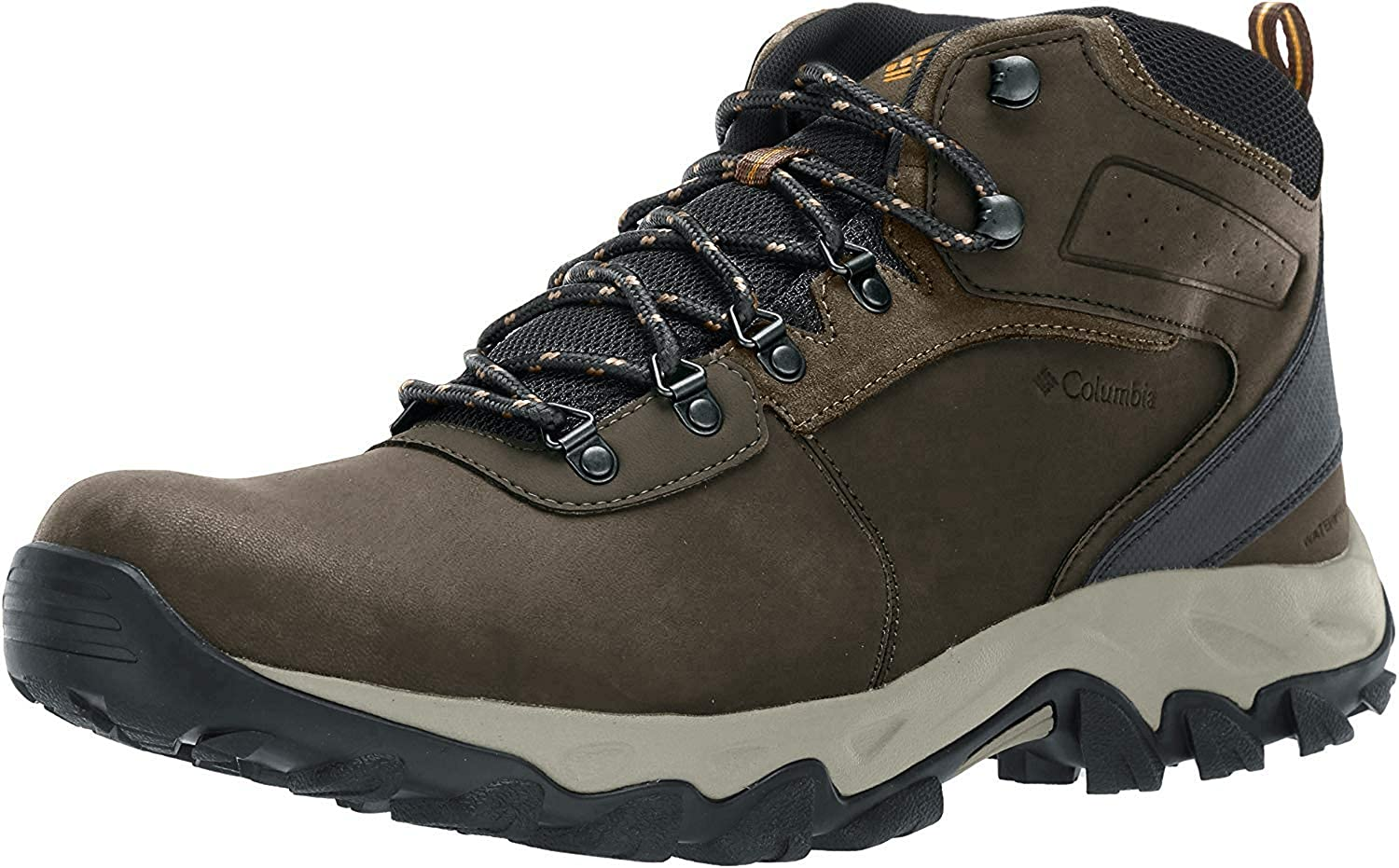 Columbia Men's Newton Ridge Plus II Waterproof Hiking Boot, Breathable, High-Traction Grip