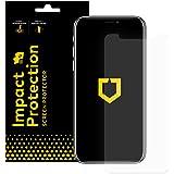 Rhino Shield iPhone X Displayschutzfolie Impact Protection   Schockdämpfung und Aufprallschutz - Klarer, Kratzfester und Fingerabdruckresistenter Displayschutz
