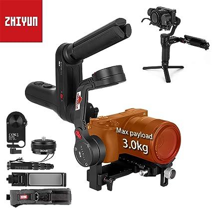 Zhiyun Weebill Lab estabilizador de cardán de 3 Ejes para cámaras ...