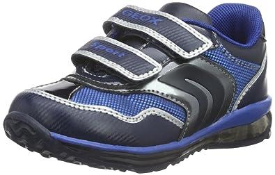 Geox B Todo Boy A, Botines de Senderismo para Bebés, Azul (Navy/Dk Silver C4201), 20 EU: Amazon.es: Zapatos y complementos