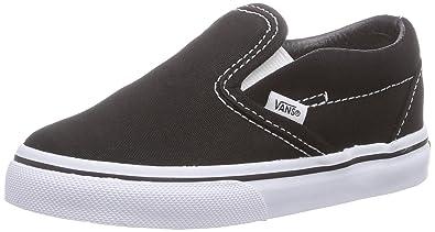 Vans Unisex Child Classic Slip On - Black - 10 Toddler