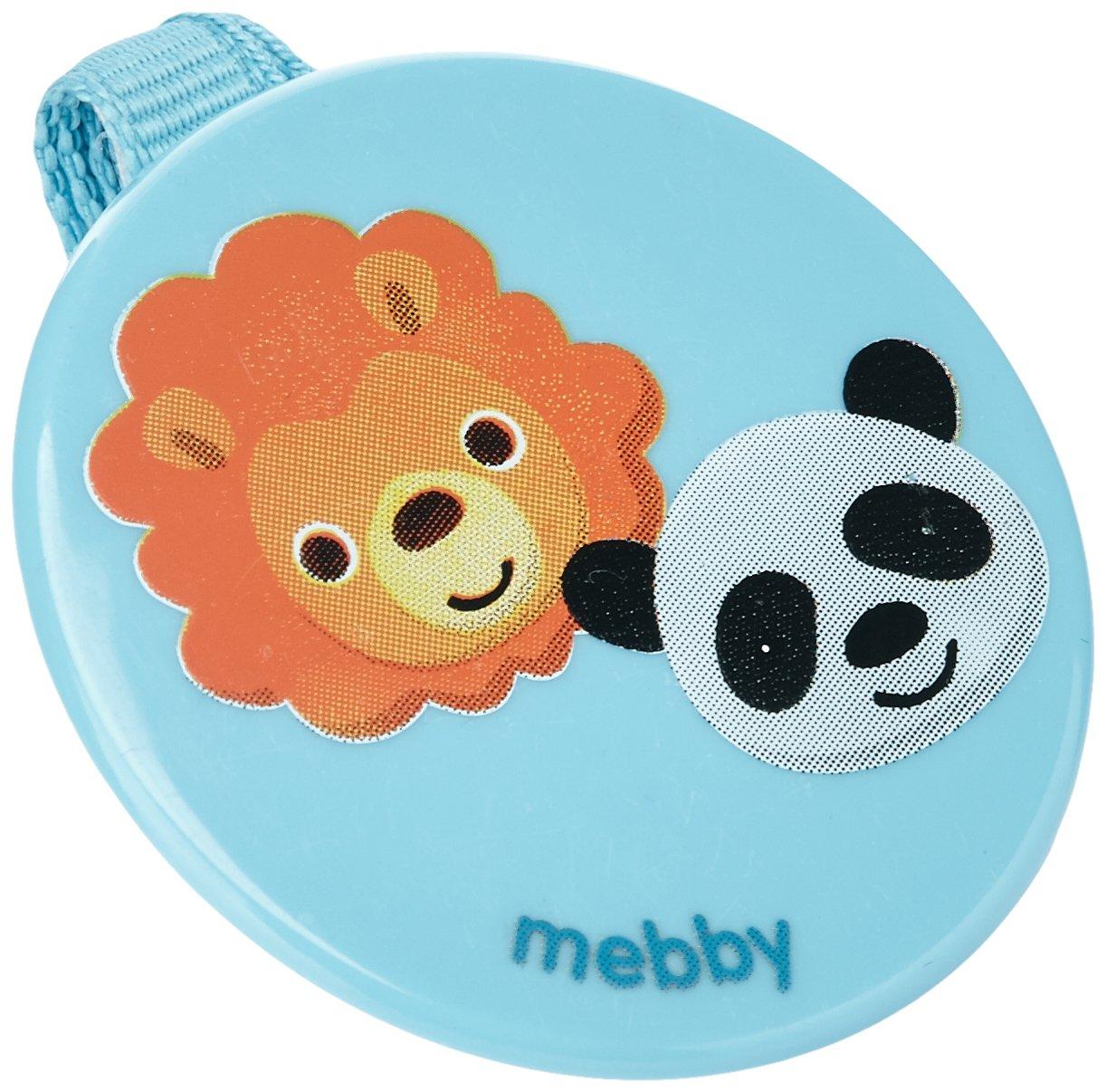 Mebby 92561 Clip Portasucchietto, Disegno Animali, Blu Medel