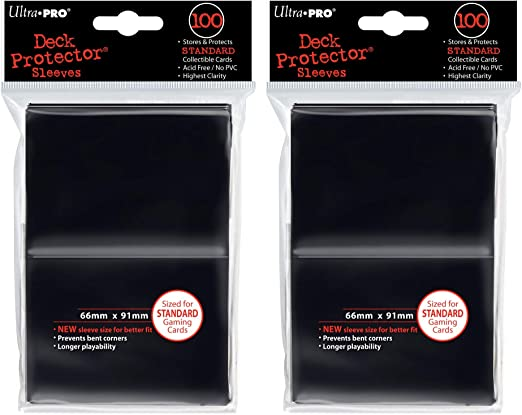 4 Packs Ultra Pro Deck Protector Castle Moss 50 Gaming Card Sleeves Per Pack
