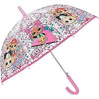 Paraguas Transparente LOL Surprise Niña - Paraguas Infantil