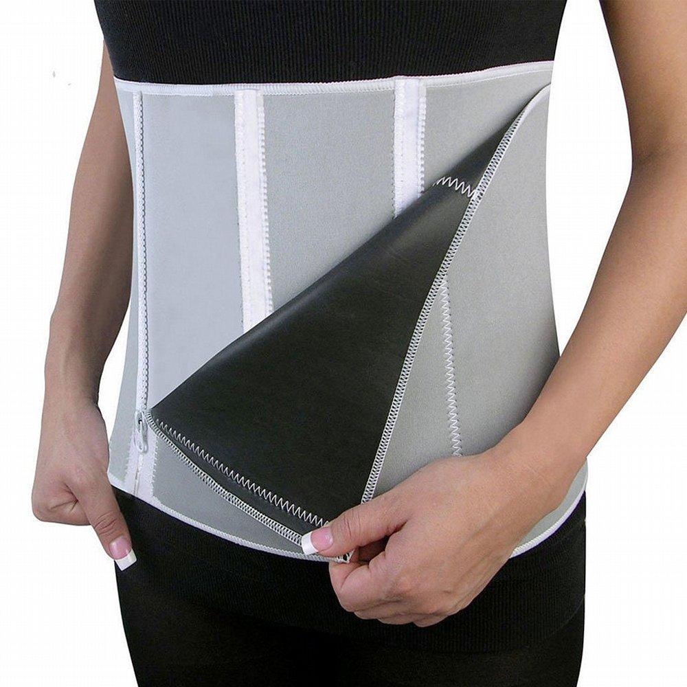 PU Health New Pro Rapid Heat Ab Slimming Fat Burner Toning Solar Belt for Men and Women, 12.8 Ounce