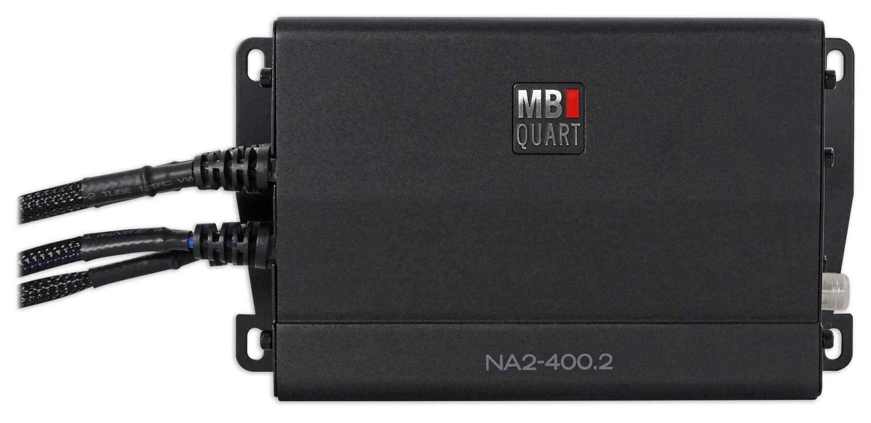 MB QUART NA2-400.2 400w 2-Channel Amplifier Amp For Polaris/ATV/UTV/RZR/CART by MB Quart (Image #1)