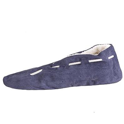 Brubaker , Pantoufles homme - Bleu - Bleu, 35 EU