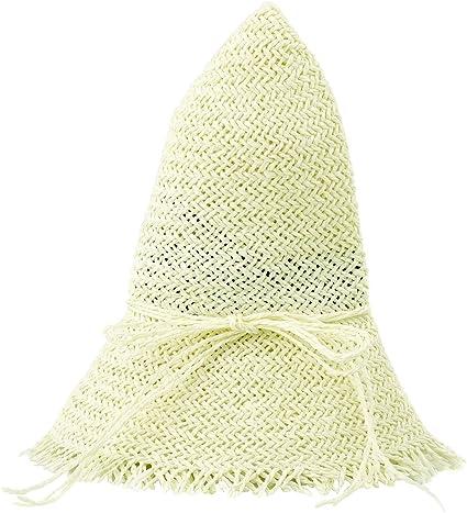 Urban GoCo Femmes Mode Plage Capeline Anti-UV Bow D/écoration Bord Large Paille Chapeau De Soleil