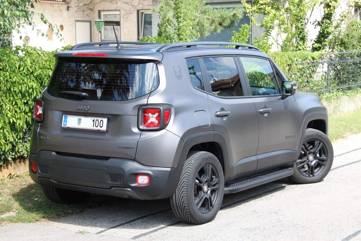 anno di costruzione dal 2014 colore: nero Pedane Jeep Renegade modello Ares