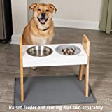 Leashboss Slow Feed Dog Bowl for Raised Pet Feeders - Maze Food Bowl Compatible with Elevated Diners