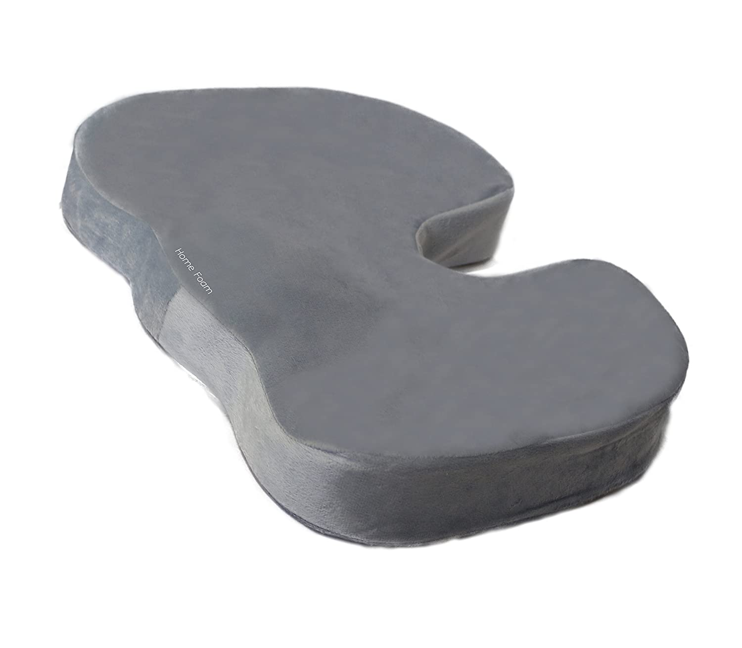amazon com memory foam seat cushion for back support and pain