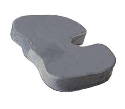 Memory Foam Seat Cushion For Back Support And Pain Relief   Coccyx Cushion    Perfect For